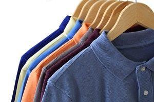 Hanging Polo Shirts for Retail Display