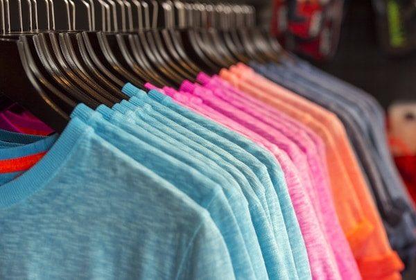 Hanging T-Shirts