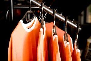 Hanging T-Shirts for Retail Display