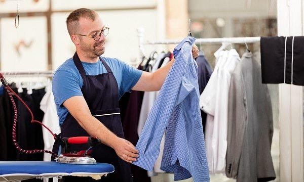 Ironing Shirts