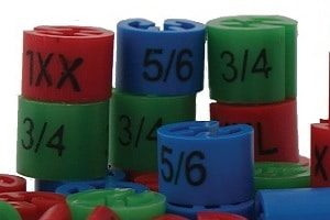 Various Size Markers for Garments