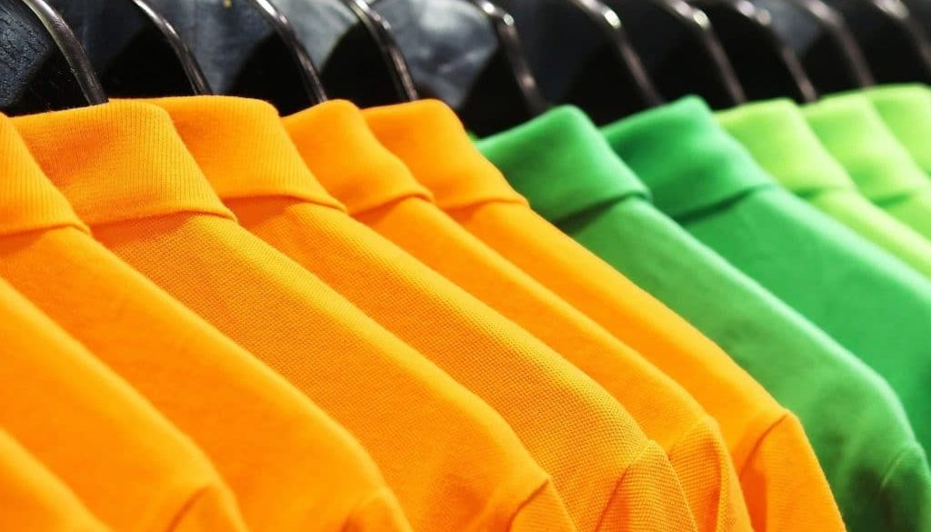 Hanging Polo Shirts for Retail Display