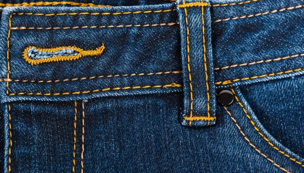 Removing Sticker Residue from Jeans